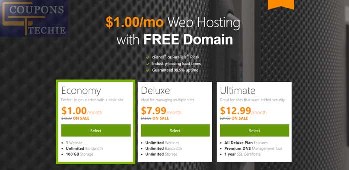 $1 Web Hosting