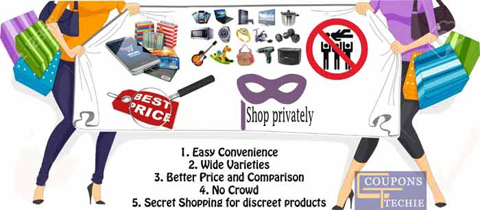 What are 5 Top Reason to Shop Online