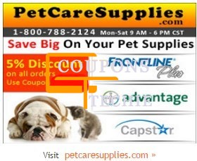 Pet Care Supplies Coupons