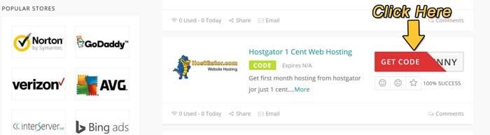 how to apply hostgator coupons