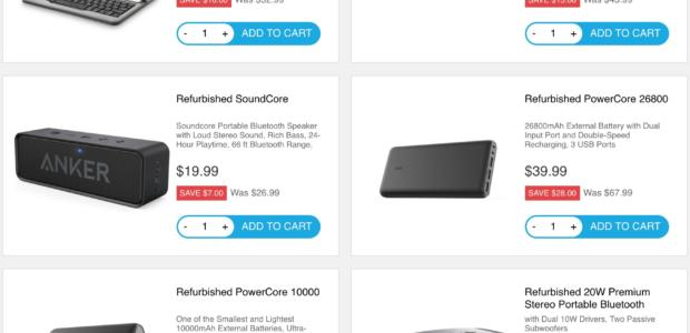 Why People buy electronic products from Anker?
