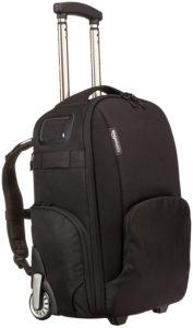 Amazon Basics Convertible Rolling Camera Backpack