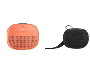 Bose SoundLink Micro Waterproof Bluetooth Speaker with AmazonBasics Case