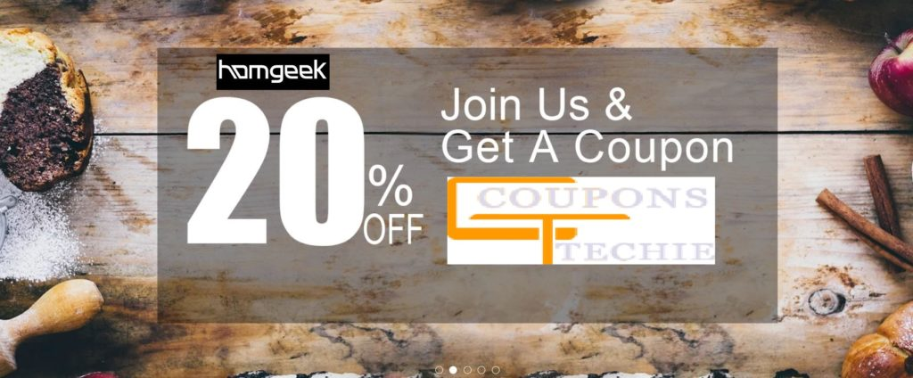 Homgeek Coupon