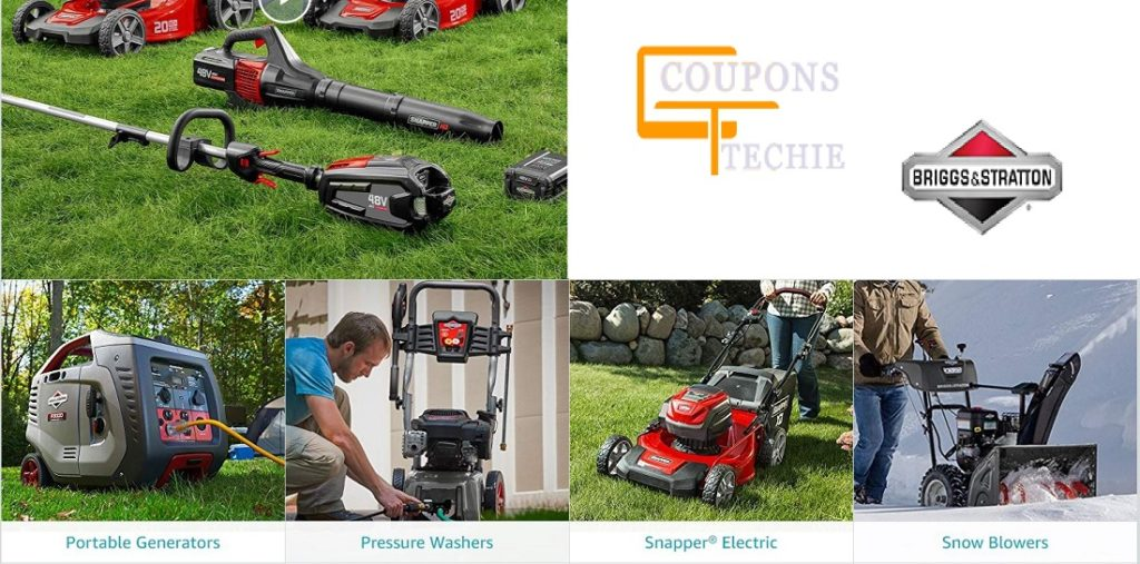 Briggs and Stratton coupon code