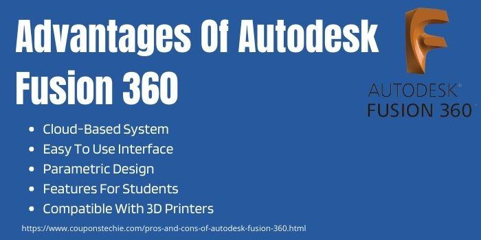 Advantages Of Autodesk Fusion 360
