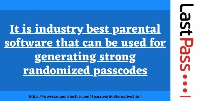 Alternative to 1Password LastPass