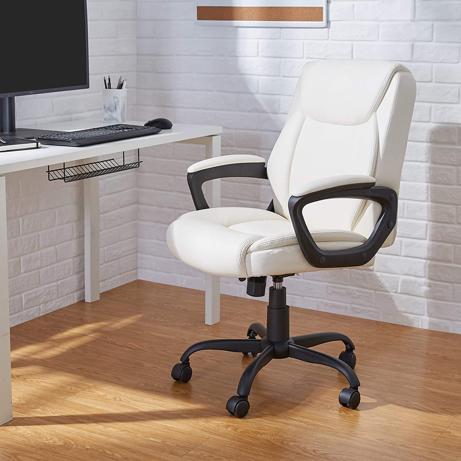 AmazonBasic Mid-Back Office Computer Desk Chair
