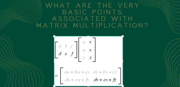 Basic Points Associated with Matrix Multiplication