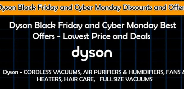 Dyson Black Friday Promo Codes