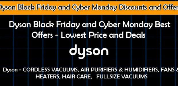 Dyson Black Friday Promo Codes