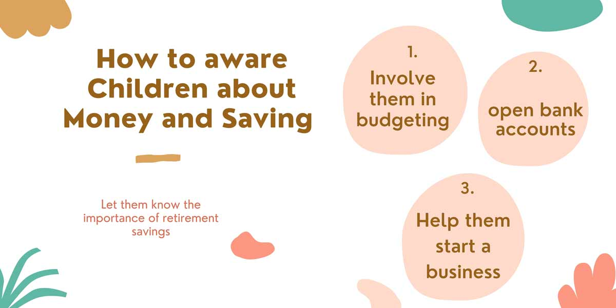 How to aware children about money Saving