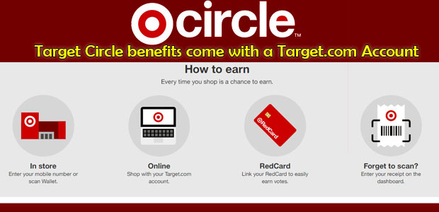 How to earn in target circle