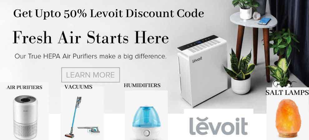Levoit Flash Discount Banner