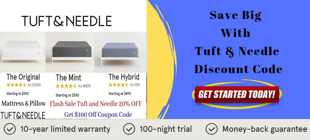 Tuft and Needle Mattress Banner