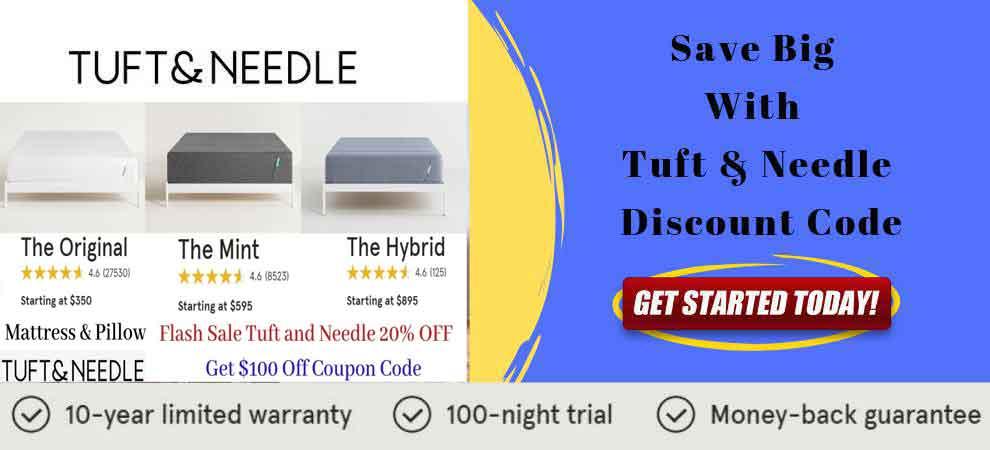 Tuft and Needle Mattress Banner