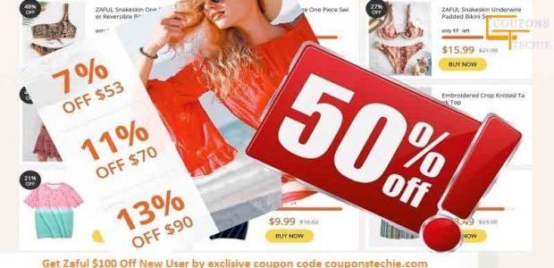 Zaful 50% Off coupon Code