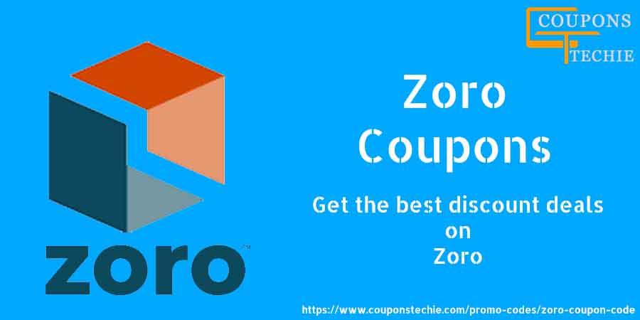 Zoro Coupon Code