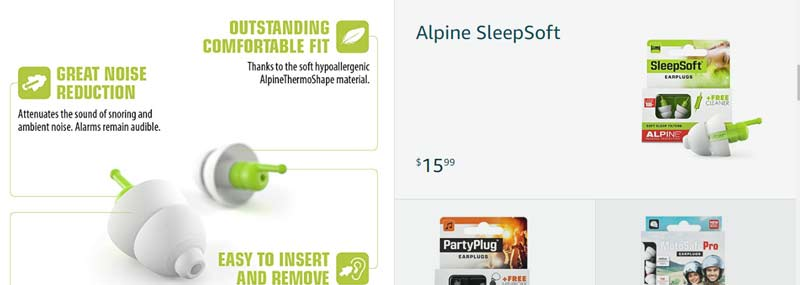 alpine hearing protection devices