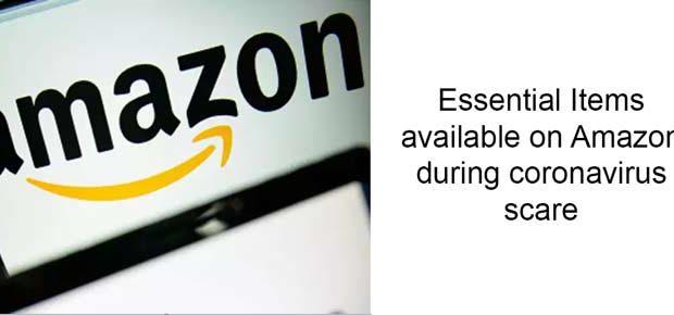 Amazon list changes due to coronavirus