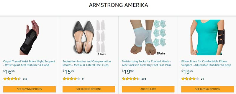 armstrong amerika store