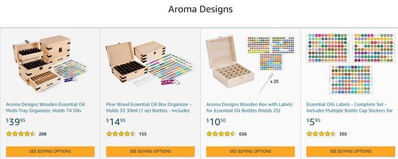aroma designs store