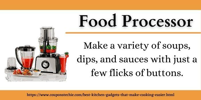 best kitchen gadget food processor