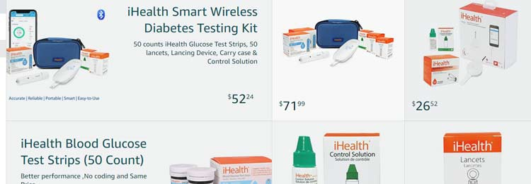 Ihealth Store Products
