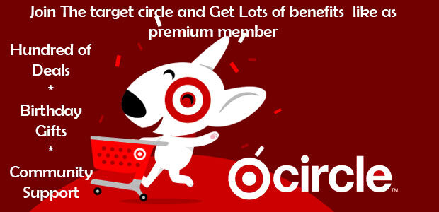 join the target circle for benefits