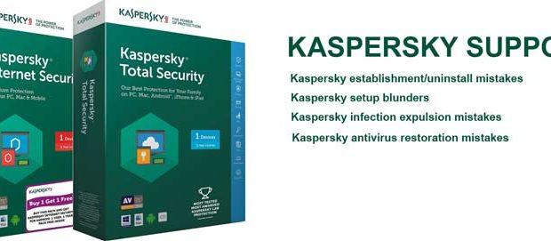 kaspersky help support