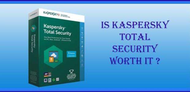 kaspersky total security worth