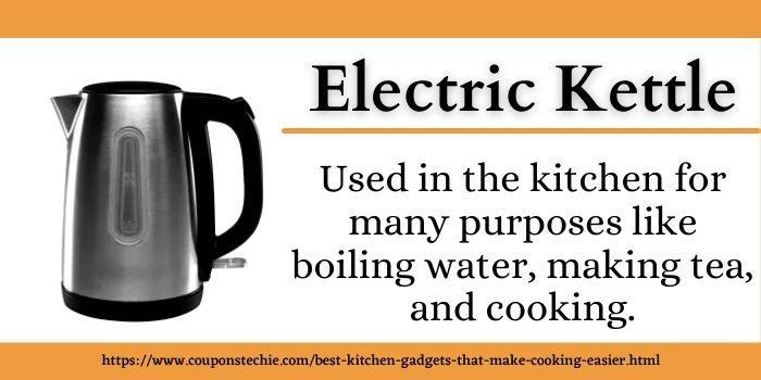 kitchen gadget electric kettle