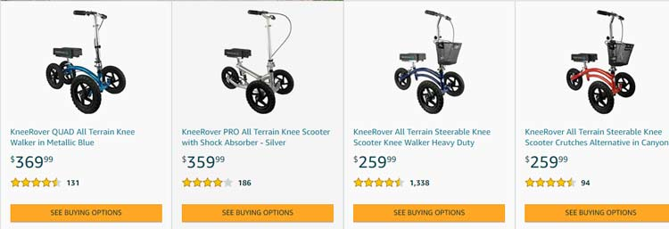 knee rover products
