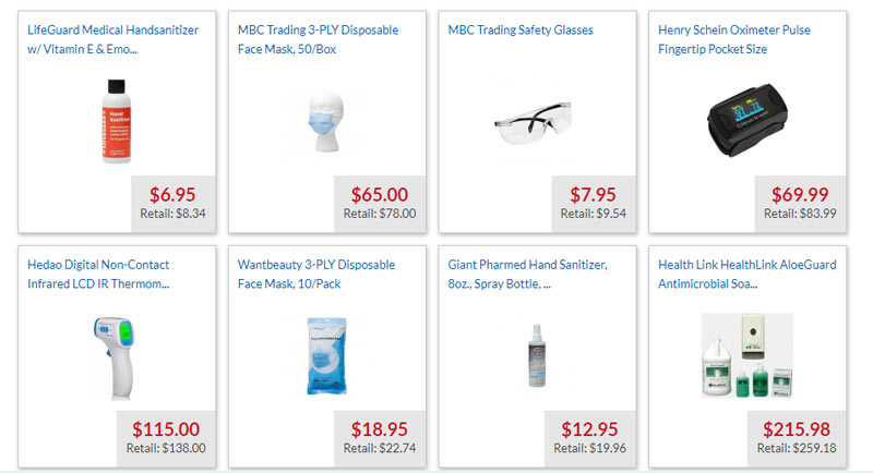 medex supply store products deals