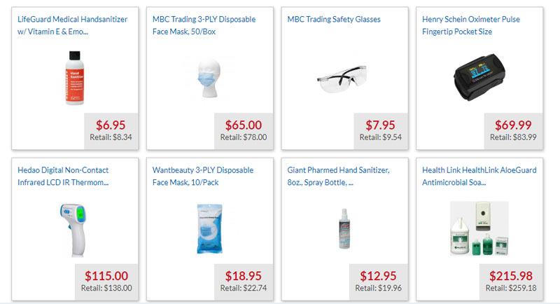 medex supply store products deals