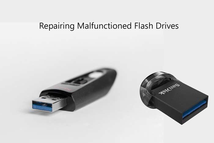 repairing flash drive