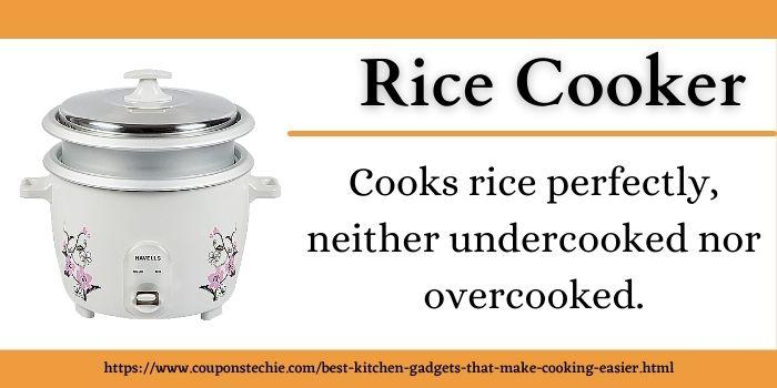 rice cooker best kitchen gadget