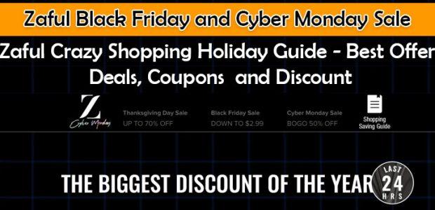 zaful black friday and cyber monday sale