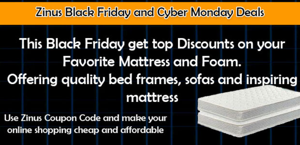 zinus black friday and offer